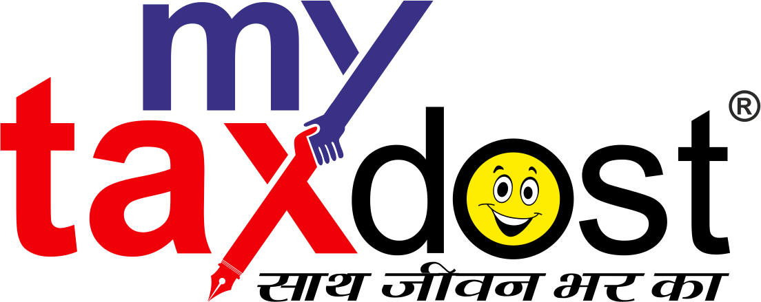 My Tax Dost logo-R